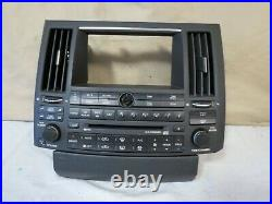 03 04 05 Infiniti FX Radio CD SAT Tape Player Climate Control OEM 28396-CG700