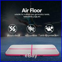 10 FT Air Track Floor Home Inflatable Gymnastics Tumbling Mat GYM with Pump USA