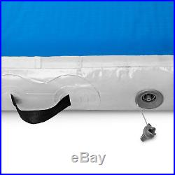 10FT 8Thick Air Track Tumbling Inflatable Mat Gymnastic Yoga Training Fitness