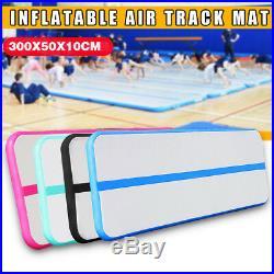 10ft Inflatable Air Track Tumbling Floor Gymnastics Mat Practice Mats GYM