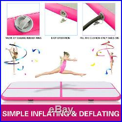 13FT Air Track Inflatable Airtrack Tumbling Gymnastics Mat Training Home Gym Pad