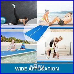 13x6.5Ft Air Track Inflatable Airtrack Tumbling Gymnastics Mat Training Home Gym