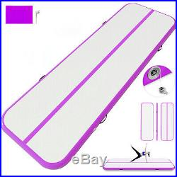 16FT Airtrack Inflatable Air Track Floor Home Gymnastics Tumbling Mat GYM