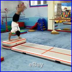 16Ft Air Track Floor Tumbling Inflatable Gym Mat gymnastic AirTrack Fitness