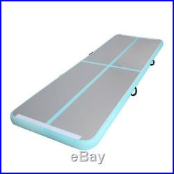 16ft Air Track Gymnastic Tumbling Inflatable Mat Water Pool Floor Exercise wPump