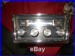 1967 Pontiac GTO Lemans Tempest factory stereo 8-track player 400 Ram Air Posi