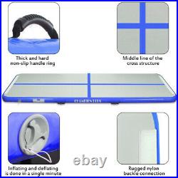 20 FT Air Track Inflatable Airtrack Tumbling Gymnastics Floor Mat Training