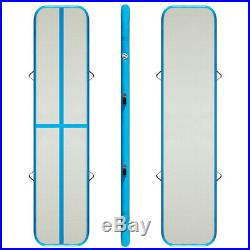 20 ft x3 ft x4inch Inflatable Air Track Mat Gymnastics Tumbling Mat Air Floor Hs