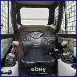 2005 Caterpillar 257b Cab Heat Air Track Skid Steer Loader Cat 257