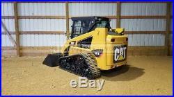 2006 Caterpillar 247b2 Cab Heat Air Track Skid Steer Loader Cat 247 247b 247d