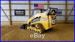 2013 Caterpillar 289c2 Cab Heat Air Track Skid Steer Loader Cat 289