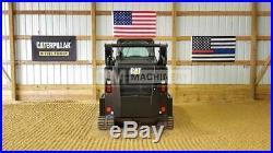 2015 Caterpillar 257d Cab Heat Air Track Skid Steer Loader Cat 257