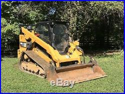 2016 CAT 299D2 XHP CAB HEAT AIR TRACK SKID STEER LOADER. Only 1480 Hours