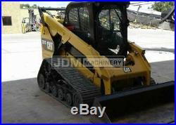 2016 Caterpillar 287d Cab Heat Air Track Skid Steer Loader Cat 287