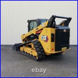 2016 Caterpillar 299d2 High Flow Cab Heat Air Track Skid Steer Loader Cat 299