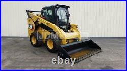 2017 Caterpillar 272d2 Xhp Cab Air Heat Track Skid Steer Loader Cat 272