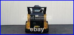 2017 Caterpillar 299d2 Cab Air Heat Track Skid Steer Loader Cat 299