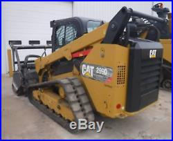 2017 Caterpillar 299d2 Xhp Cab Heat Air Track Skid Steer Loader Cat 299