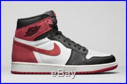 2018 Nike Air Jordan 1 Retro High OG 6 Rings Track Red Size 16. 555088-112 Bred