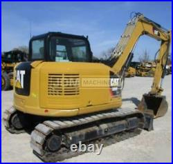 2019 Caterpillar 308e2 Cr Cab Air Heat Track Crawler Mini Excavator Cat 308