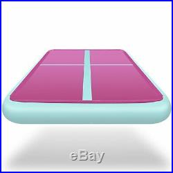 20FT Airtrack Inflatable Air Track Floor Home Gymnastics Tumbling Mat Yoga F4R6