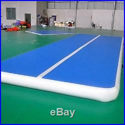 20Ft Air Track Gymnastics Tumbling Inflatable Mat Airtrack Floor GYM with Pump US