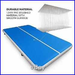 20Ft Air track Inflatable Floor Home Gymnastics Tumbling Mat GYM W. Pump Gift US