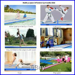 20ft 8in Airtrack Inflatable Gymnastics Mat Air Track Tumbling Floor Mat +Pump