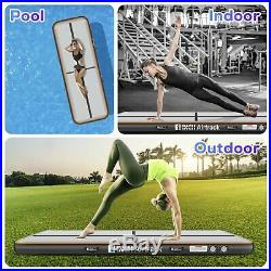 20ft Airtrack Air Track Floor Inflatable Gymnastics Tumbling Mat GYM + Free Pump