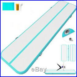 26FT Airtrack Inflatable Air Track Floor Home Gymnastics Tumbling Mat GYM