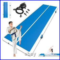 26Ft Air Track Gymnastics Tumbling Inflatable Mat Airtrack Floor GYM with Pump
