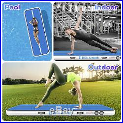3.3ftx16ft Airtrack Air Track Floor Inflatable Gymnastics Tumbling Mat with Pump