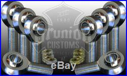 3/4-16 Heim Joint Panhard Bar Kit CHROMOLY Rod End Jam Nuts 4 Left & Right Hand