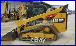 300 Hrs 2018 Caterpillar 299d2 Xhp Cab Heat Air Track Skid Steer Loader Cat 299