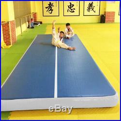 33x6.6FT Inflatable Gym Mat Air Track Floor Tumbling Gymnastics Cheerleading Pad