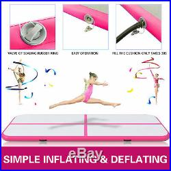 39FT Air Track Inflatable Airtrack Tumbling Gymnastics Floor Mat Training Home