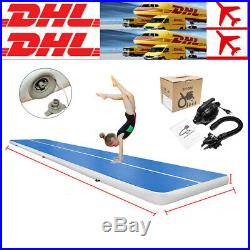 6M Air Track Floor Home Inflatable Gymnastics Tumbling Mat GYM Yoga Air Pump EG