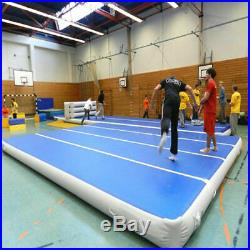 6x20 ft Air Track Floor Home Gymnastics Tumbling Mat GYM With Pump Great Gift