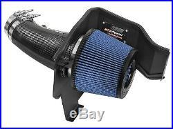AFe Track Carbon Cold Air Intake For 11-19 Dodge Challenger Charger 6.4L V8