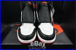 Air Jordan 1 Retro High OG 6 Rings Track Red Best In Hand 555088-112 size 15