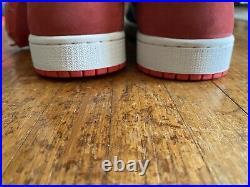 Air Jordan 1 Retro High OG Track Red 555088 112 DEADSTOCK Size 9.5 OG All