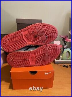 Air Jordan 1 Retro High Og Track Red Size 9.5 Used No Box