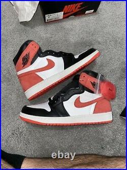 Air Jordan Retro 1 High OG Track Red Size 9.5