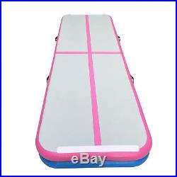 Air Track Airtrack Floor Gymnastics Tumbling Home Inflatable Mat GYM with Pump