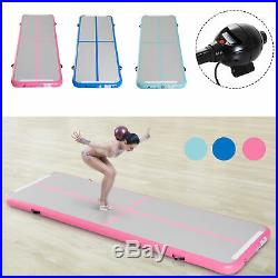 Air Track Gymnastic Tumbling Inflatable Mat Water Pool Floor Exercise with Pump