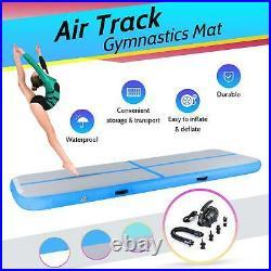 Air Track Mat Inflatable Tumbling Gymnastics Mat Training Sports Home