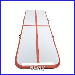 Airtrack Air Track Floor Home Inflatable Gymnastics Tumbling Mat GYM with Pump