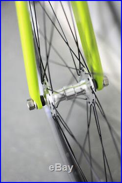 Airtrack Bike Aluminum Road Bicycle Single Speed Fixed Gear Fixie 700c 53 cm