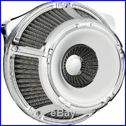 Arlen Ness Inverted Slot Track Chrome Stage 1 Air Cleaner Harley Twin Cam 99-15