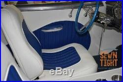 Blue 1949 Chevrolet Styleline 2 door with great interior